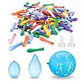 Elegear Globos de Agua, Magic Water Balloons Bombas de Agua Juguete 200 para Niños Juegos Rellenos...