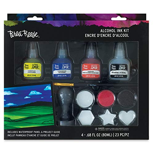 Momenta Brea Reese Alcohol Inks 20ml-Turquoise