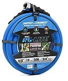AG-Lite Rubber Hot & Cold Water Rubber Garden Hose: Ultra-Light & Super Strong (5/8' x 10') - BSAL5810