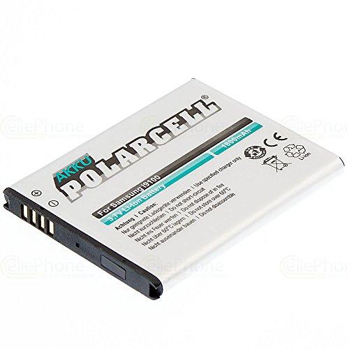 cellePhone PolarCell Akku Li-Ion kompatibel mit Samsung Galaxy S2 (GT-I9100) / Galaxy R (GT-I9103) (Ersatz für EB-F1A2G)