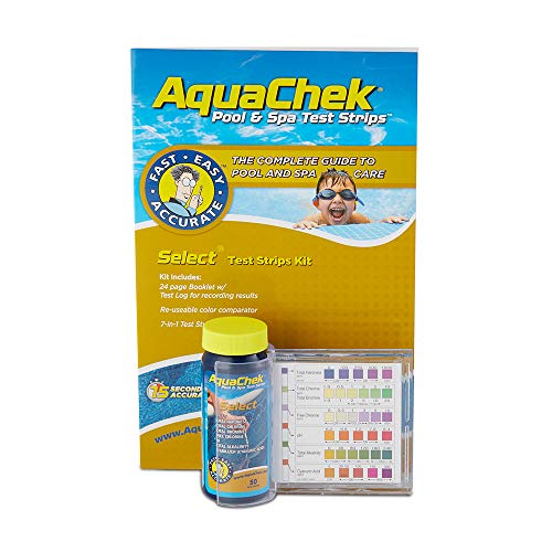 AquaChek Select 7-in-1 Pool and Spa Test Strips