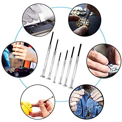 6PCS Mini Screwdriver Set, Precision Maintenance Tools, Suitable for Watches, Glasses, Jewelry