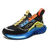 Zapatillas de deporte para hombre, informales, ligeras, cómodas, transpirables, para gimnasio, deportivas., color, talla 45 EU