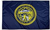 FlagSource Nebraska Nylon State Flag, Made in the USA, 3x5