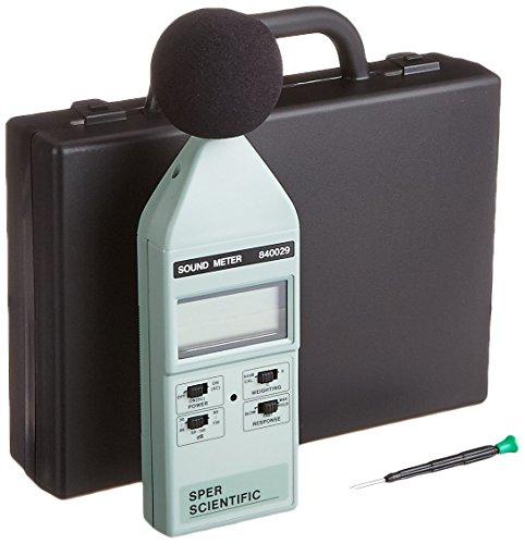 Sper Scientific 840029 - Medidor de sonido digital tipo 2