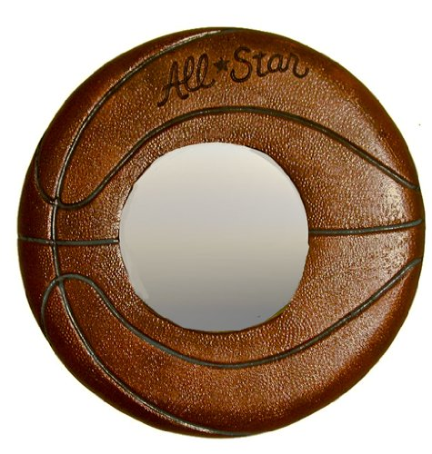 Piazza Pisano Basketball Wall Mirror Kids Room Decor