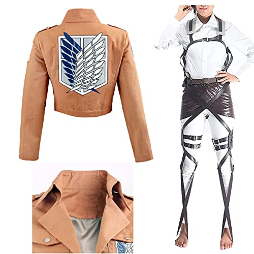 MAYAIO Attack on Titan Cosplay Mikasa Costumes Survey Corps Wings of...