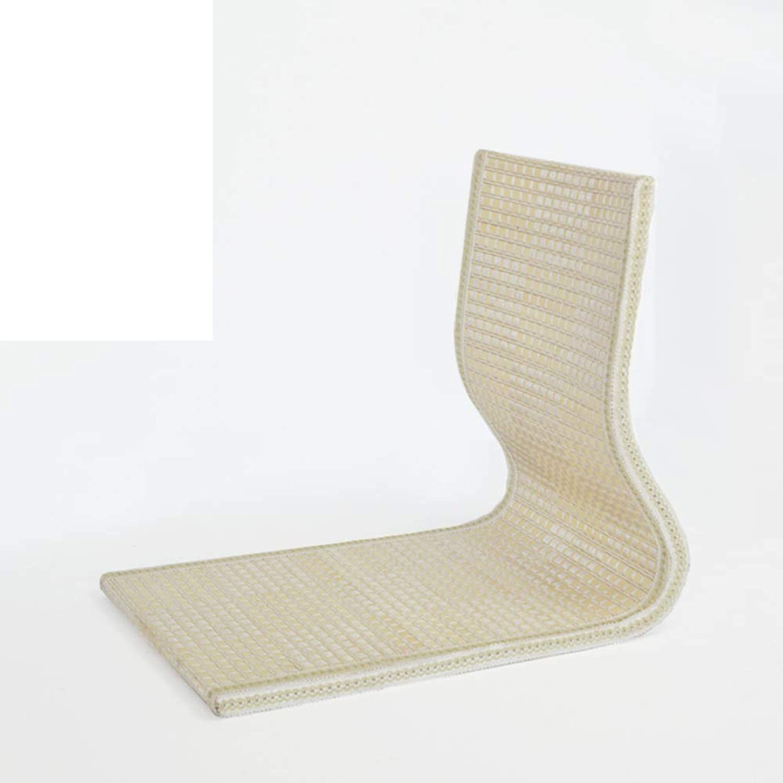 Straw Bay Window Chair,Japanese Bed Computer Chair Single Tatami Chair Bay Window seat-A