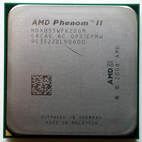 AMD Phenom II X2B553.0GHz Dual-Core hdxb55wfk2dgm CPU Prozessor Sockel AM2+ AM3938-pin