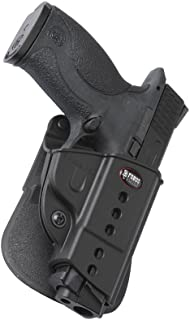 Fobus SWMPLH Evolution Holster for S&W M&P, M&P M2.0, and M&P Pro 9/40/45 Compact-Full, SD9 VE & SD40 VE, Left Hand Paddle