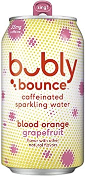 18-Pack Bubly Bounce Caffeinated Sparkling Water