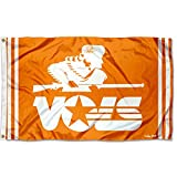 College Flags & Banners Co. Tennessee Volunteers Vintage Retro Throwback 3x5 Banner Flag