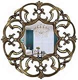 WANGXIAOLINJINGZI Espejos compactos Miroir de Maquillage Salle de Bains Miroir Accesorios Pour La Maison Porche Miroir Miroir Décoratif Montaje Montaje Fond Mur Miroir Décoratif Make-Up Espejos