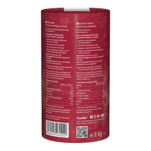 Xucker Premium Xylit – 1er Pack (1 x 1 kg) - 2