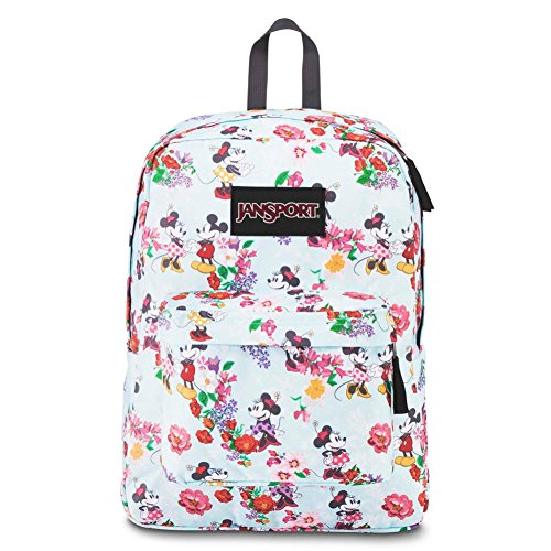 JanSport Disney Superbreak Backpack (Blooming Minnie)