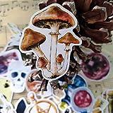 PMSMT 38 unids Retro poción mágica Vintage Poker Seta Bruja Calavera Pegatina para Diario Scrapbooking Ablum Pegatina papelería Pegatinas