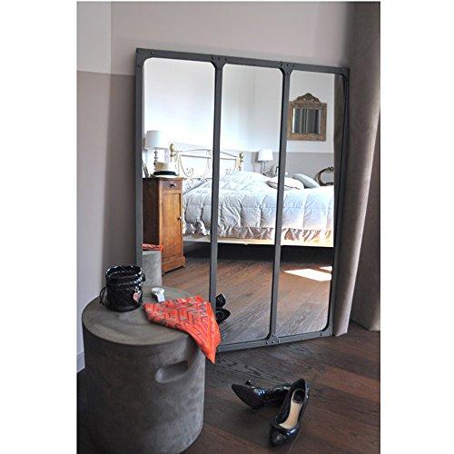 Grand miroir Atelier - métal