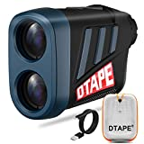Vorstik Entfernungsmesser, DTAPE DT600 Laser Golf Entfernungsmesser,Jagd Golf Rangefinder Lasermessgerät mit 6 Facher Vergrößerung und Aufladbarer Batterie, IP54 Wasserdicht, Abstandsmessung 3~600m