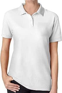 FengZe New Personalized KIA_Motors Logo Funny Polo Shirt Short Sleeve for Woman Black