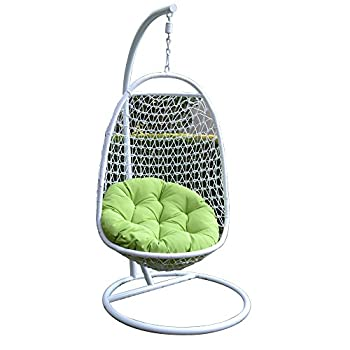 Generic Wicker Rattan Swing Bed Chair Weaved Egg Shape Hanging