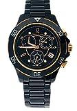 Cerruti 1881Diamant Crwm033z281r montre femme 36mm Noir High Tech en céramique...