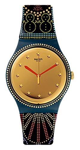 Swatch Quarzuhr Unisex Unisex lucinfesta 41mm
