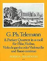 TELEMANN - Cuarteto en La menor (TWV:43/a2) (Partitura/Partes)