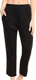 Rösch Pure 1213125-10995 Women's Black Cotton Pyjama Pant