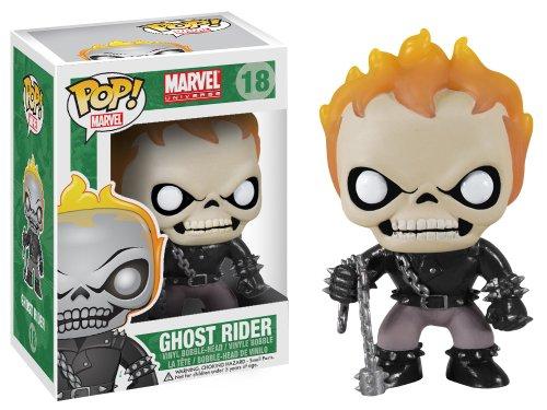 Funko POP Marvel Ghost Rider Bobble Figure image