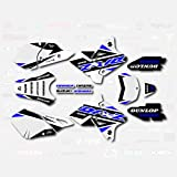 Boston Decal Works Blue Shift Graphics Kit fits Suzuki DRZ400SM Drz400s drz400 Supermoto DRZ