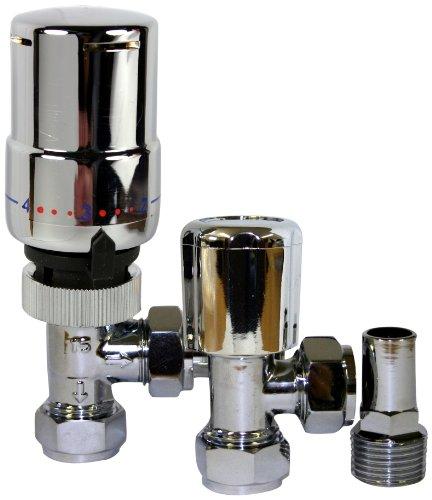 Tower TRVPACKCH - Válvula de desviación para bañeras y duchas (tamaño: 10-15 mm)
