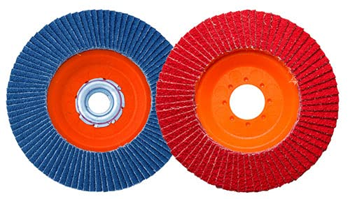AAAbrasives 5x7 El Paso Mall 8#40 Zirc Trimmable Bombing free shipping Abrasive ABS Pla Flap Disc