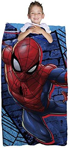Marvel Spiderman Blue Thwip 2 Piece Children's Slumber Bag - 30' x 54'