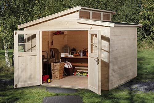 weka Gartenhaus 226 Gr.4, natur, 21 mm
