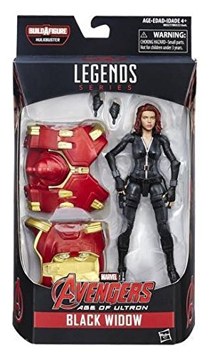 Hasbro Black Widow Marvel Legends The Avengers Series Action Figure