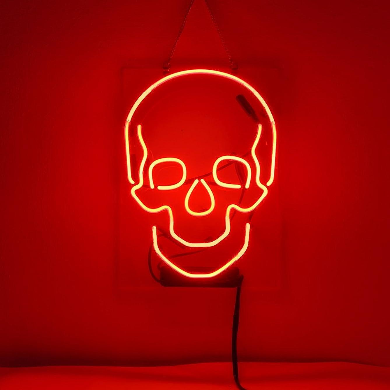 Skull DesignBeer Bar Pub Store Party Room Wall Windows Display Neon Signs 14x9