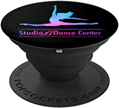 Studio B Dance Center - Watercolor 1 - PopSockets Grip and Stand for Phones and Tablets