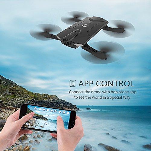 Drone pliable Holy Stone HS160 avec Caméra HD 720P WiFi FPV Vidéo en Temps réel - 1