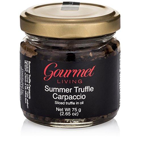 Italienische Trüffel in Scheiben, in Öl eingelegt | Geschnittener Tartufi in Premium-Qualität, konserviert in neutralem Sonnenblumenöl