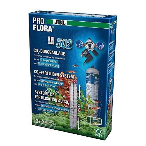 JBL - ProFlora u502 Pflanzendüngeanlage (Einweg) mit Nachtabschaltung Aquarien bis 600 l (max.120 cm)