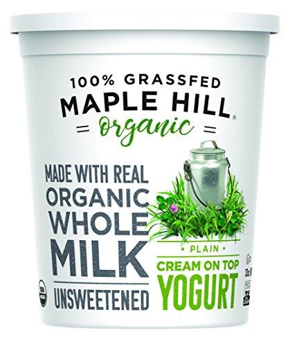 Maple Hill Creamery, Organic Cream on Top Yogurt,...