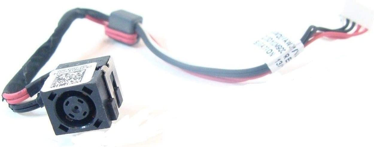 DBParts DC Power Jack Cable Harness For Dell Inspiron 15-2521 15-3521 15-3531 15-3537 15R-3521 15R-5521 15R-5537, Inspiron M531R (5535), P/N: M531R YF81X 0YF81X DC30100M900