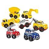 Ecoiffier 3239 - Vehículos para montar con 56 piezas intercambiables