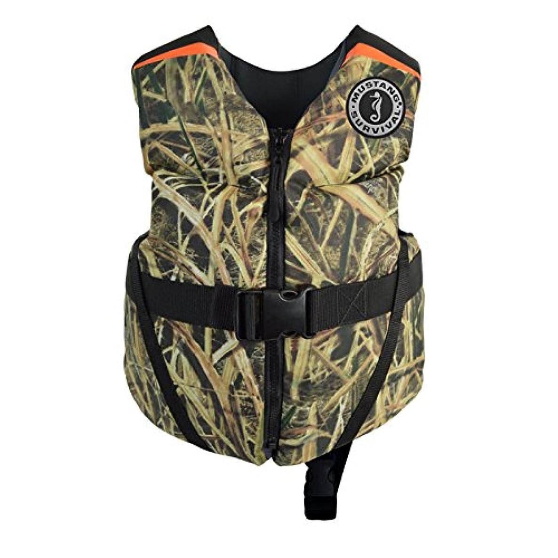 Mustang Survival Corp Lil' Legends 70 Child Life Vest, Mossy Oak Shadow Grass Blades tymjljiqobiwrcgw