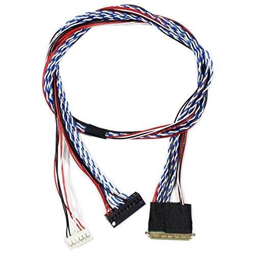 LVDS-Kabel IPEX-40P 1ch 6bit 50cm Länge (MEHRWEG)