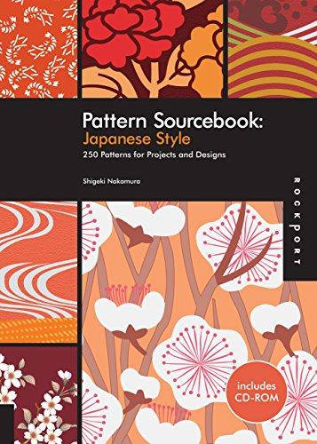 Pattern Sourcebook: Japanese Style: 250 Patterns for Projects and Designs