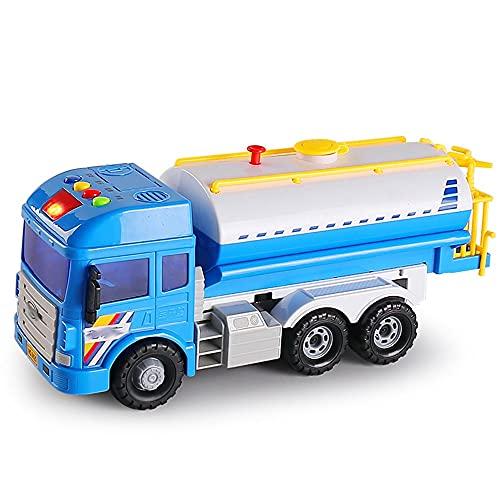 Xolye Modelo de rociadores pulverizables en 2 Colores inercia Ingeniería hacia adelante Vehículo de Juguete Boy Grande Actividad al Aire Libre Toy Coche Regalo (Color : Azul)
