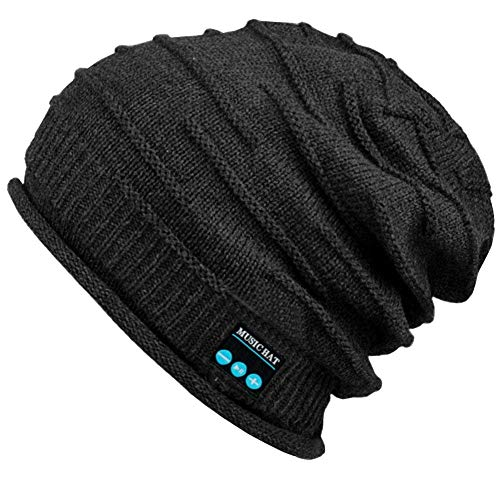 Product Image of the Upgraded Wireless Bluetooth Beanie Hat with Headphones V5.0, Unique Christmas...