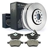 NB Parts Alemania 10038208Juego de frenos delanteros de freno + freno ø288ventilado pastillas de freno VA Kit