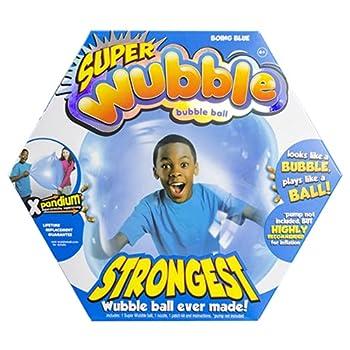 Wubble the Amazing Tear Resistant Super Bubble Ball Boing Blue